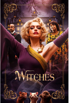 Convenção das Bruxas / The Witches (2020) Torrent WEBRip 1080p Dublado Legendado Baixar Download