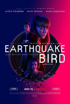 Pássaro do Oriente / Earthquake Bird (2019) Torrent WEBRip 1080p Dublado Baixar Download