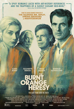 The Burnt Orange Heresy (2019) Torrent HDCAM 720p Dublado Legendado Baixar Download