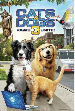 Cats & Dogs 3: Paws Unite (2020) Torrent WEBRip 1080p Dublado Legendado Baixar Download